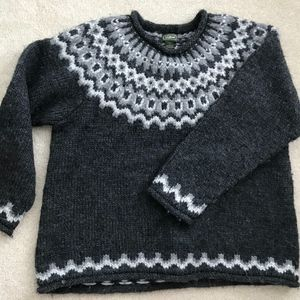 Alpine Sweater  (Large and Extra Small Available)